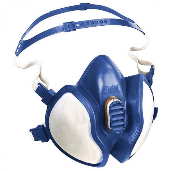 Atemschutzmaske Serie 4000 zum Schutz vor Gasen, Dämpfen und Parikeln