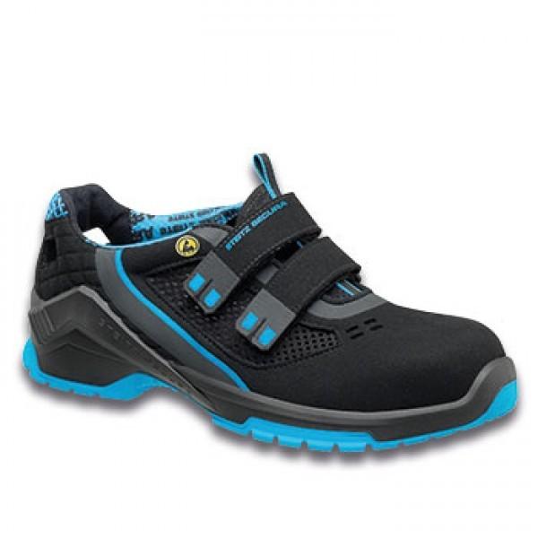 Sandale VD PRO 1000 SF, S1P SRC, schwarz/blau